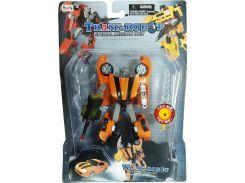 Транс-робот со светящимся мечом (оранжевый), BoldWay