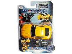 Транс-робот, автомобиль (желтый с черным), BoldWay