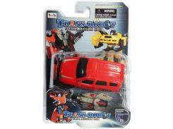 Транс-робот, автомобиль (красный с серым), BoldWay