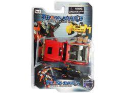 Транс-робот, автомобиль (красный с черным), BoldWay