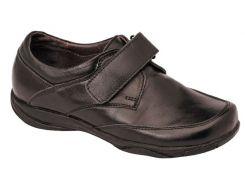 Туфли для мальчиков, кожаные на липучке, Lapsi (Arial) (36)