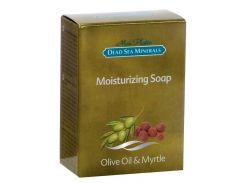 Увлажняющее мыло c маслом оливы и мирта, 120 гр, MonPlatin