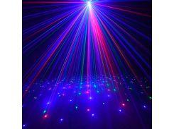 Уличный лазерный проектор, RGB (красные, синие и зеленые точки), IP65, Ecolend
