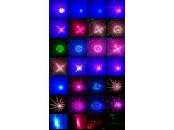 Уличный лазерный проектор, фейерверки, RGB (красный, зеленый, синий), IP65, Ecoland