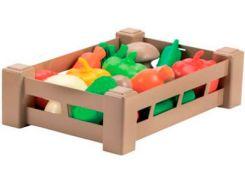 Урожай, ящик с овощами, Ecoiffier