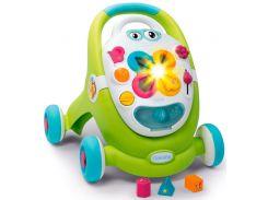 Учебно-игровой центр Cotoons Цветочек со съемной панелью (свет, звук, зеленый), Smoby Toys