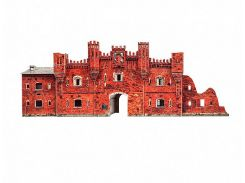Холмские ворота, Брестская крепость Сборная модель из картона, Умная бумага (366)