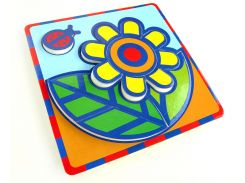 Цветок, Мягкий конструктор-пиктограмма, Умная бумага