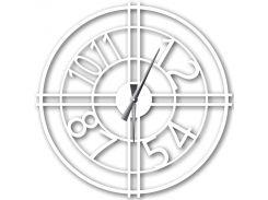 Часы настенные Bersa, белые, WallArt