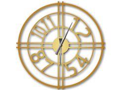Часы настенные Bersa, золотые, WallArt