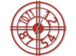 Часы настенные Bersa, красные, WallArt