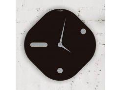 Часы настенные Lame, черные, WallArt