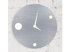 Часы настенные Moon, серые, WallArt