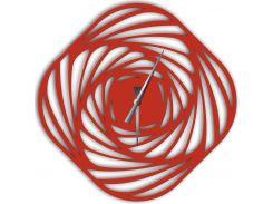 Часы настенные Mulinello, красные, WallArt