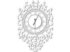 Часы настенные Riccioli, белые, WallArt