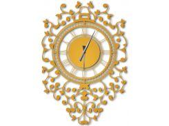 Часы настенные Riccioli, золотые, WallArt