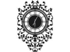 Часы настенные Riccioli, черные, WallArt