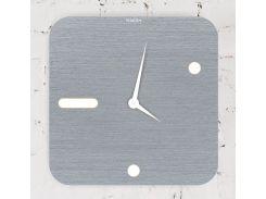 Часы настенные Square, серый, WallArt