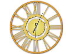 Часы настенные Stella, золотые, WallArt