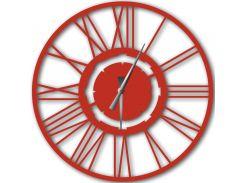 Часы настенные Stella, красные, WallArt