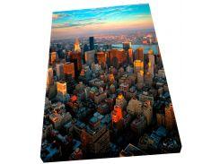 Электрический обогреватель-картина Город в закате, (160 Вт), АртТепло