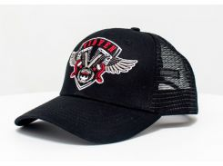 Бейсболка DASTI Vidven чорная 54-56 размер (804DS201941)