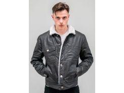 Джинсовая куртка DASTI Vidven на меху черная М (482DS20191713)