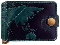 Зажим для денег HiArt MC-01 Crystal Green 7 wonders of the world (MC-01-C19-5406-T002)
