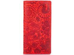 Кошелек HiArt WP-05 Shabby Red Berry Mehendi Art (WP-05-S18-1440-T005)