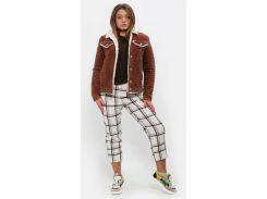 Куртка DASTI Denim на овчине коричневая М (482DS20192105)