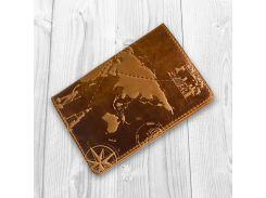 Обложка для паспорта HiArt Shabby Dingo 7 wonders of the world (PC-01-S17-1340-T002)