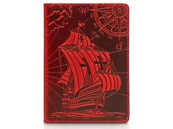 Обложка для паспорта HiArt Shabby Red Berry Discoveries (PC-02-S18-1440-T003)