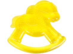 Грызунок с водой Бусинка Лошадка желтый (1081/2)