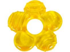 Грызунок с водой Бусинка Цветок желтый (1084/2)