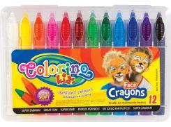 Карандаши для детского грима, 12 цветов, Colorino