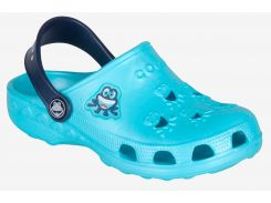 Клоги Coqui Little Frog Blue-Navy 29-30 (8701-29/30-B/N)