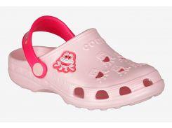 Клоги Coqui Little Frog Pale pink-Lt. fuchsia 27-28 (8701-27/28-P/F)