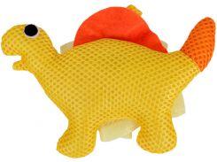 Мочалка для купания малышей Бусинка желтая (406)