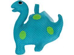 Мочалка для купания малышей Бусинка синяя (406/1)
