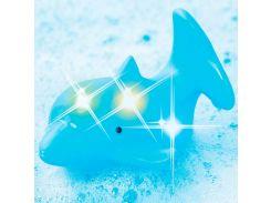 Дельфин со светом, игрушка для ванны, Bebelino
