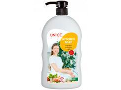 Кухонное жидкое мыло для рук Unice 1000 мл (3805014)