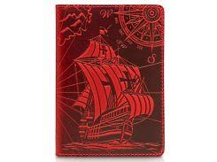 Обложка для паспорта HiArt Shabby Red Berry Discoveries (PC-01-S18-1440-T003)