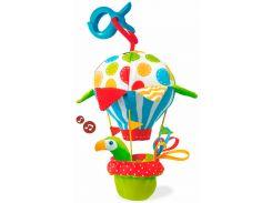Подвеска Попугай на воздушном шаре, со звуком, Yookidoo