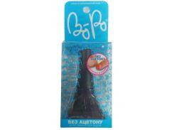 Лак для ногтей (черный с синими блестками), Косметика для детей, BoPo