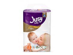 Детские подгузники Jusy Twin Baby Diaper Midi 36 шт. (JTB_Midi_36)