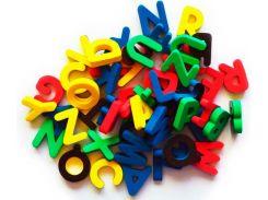 Английский алфавит на магнитах, Бомик