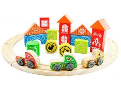 Гран-при трасса, игровой набор, Мир деревянных игрушек
