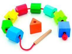 Шнуровка Геометрия, Мир деревянных игрушек