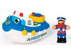 Полицейская лодка Перри, игрушка для купания, Wow Toys