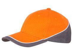 Кепка Cofee New Wedge размер One Size цвет оранжевый (4240-10 CO)